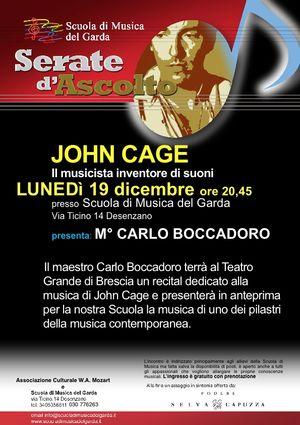 12Serata JOHN CAGE