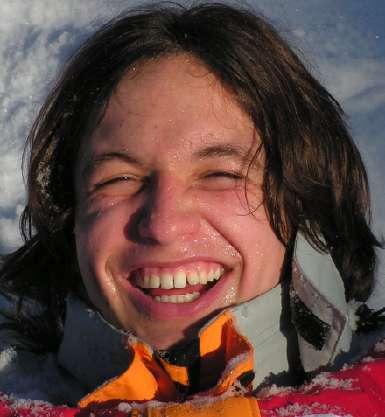 Giulio nella neve